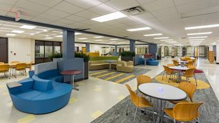 Hertz Furniture Facilitates the Shift from Library to Media Center