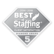 Frontline Source Group Best of Staffing 5 Diamond Award 2018