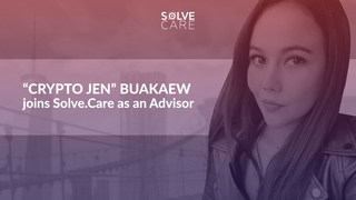 """Crypto Jen"" Buakaew Joins Solve.Care as an Advisor"