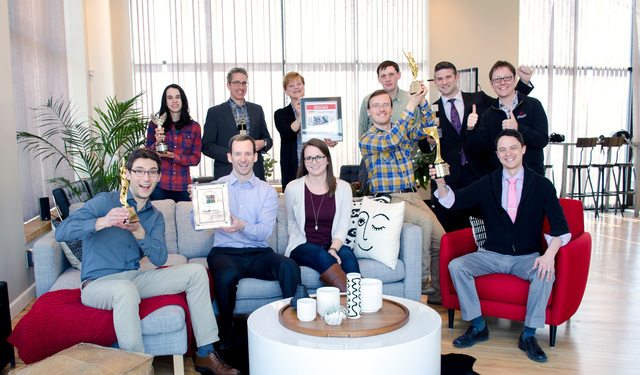 Plaudit team holds several awards for exemplary design work.