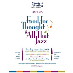 It's Time for Food for Thought & All That Jazz at SUNY SCCC with Honorary Co-Chairs, The Fabulous Beekman Boys
