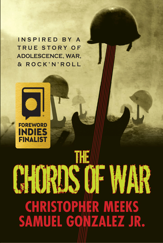 The book has been selected in the category of Military and War Fiction. It's based in Iraq.