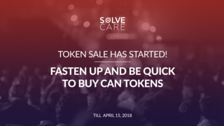 Solve.Care Token Sale Ends April 15