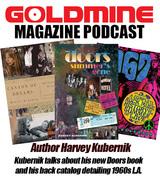 Banner for Harvey Kubernik's Goldmine Magazine Podcast