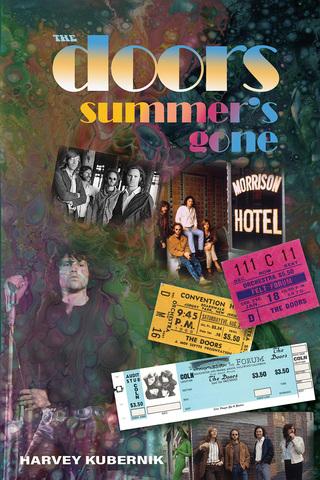 Harvey Kubernik's The Doors Summer's Gone book cover