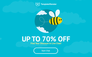 Save up to 70% on Any Theme from TemplateMonster Digital Marketplace