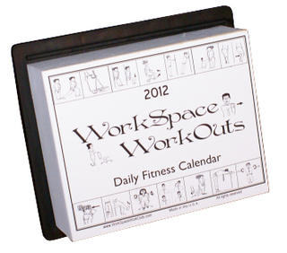 Naperville Physical Therapy owner Designs Exercise Calendar for Workspace