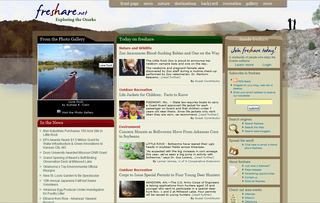 Freshare.net Now Focused on Exploring the Ozarks Outdoors