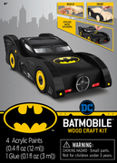 Batmobile Wood Craft Kit (mini)