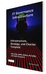 IT Governance Infrastructure, Strategy, and Charter Template released by Janco
