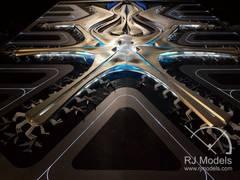 Beijing Daxing International Airport Model