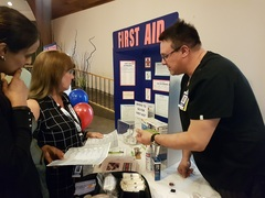 Safety Expo at Menno Place in 2017