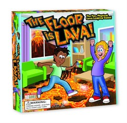 Endless Games The Floor Is Lava Blasts Onto Toy Scene