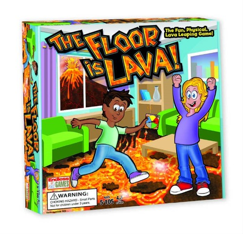 The Floor is Lava Game from Endless Games