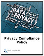 Privacy Compliance Policy Meeting CA Privacy Law and GDPR  Mandates Released by Janco