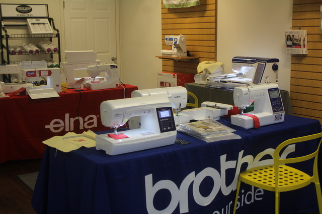 Vacuum Authority is excited to be offering new sewing machines by top brands like Janome, Brother and Elna Swiss.