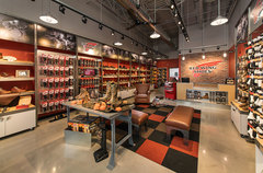 Red Wing Shoes operates 500+ stores in the United States.