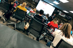 Pixel ran a three-day getting started program with over 30 Red Wing Shoe employees.