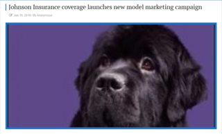 Johnson Insurance Coverage Launches New Model Marketing Campaign