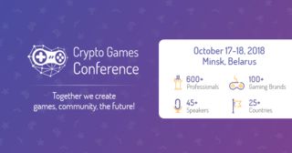 Registration for Crypto Games Conference Minsk is Open! October 17-18