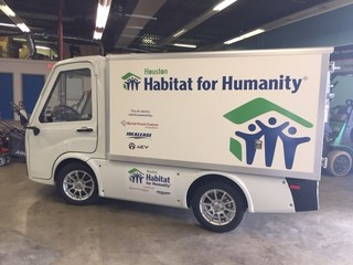 Houston Habitat for Humanity Takes an Eco-Friendly Vehicle to the Road with the Help of Kyrish Truck Centers