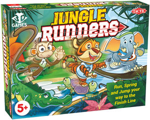 Tactic's New Jungle Runners Game Sprints Into Game Aisles