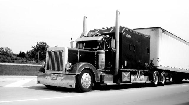 Large truck on a highway -Tom-Erik Paulsen
