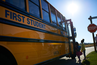 First Student Joins Effort to Encourage School Bus Safety During National School Bus Safety Week