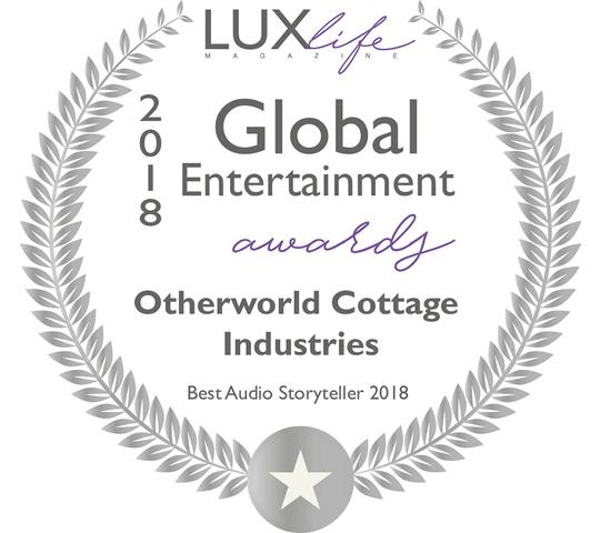 LUXLIFE MAGAZINE 2018 GLOBAL ENTERTAINMENT AWARD WINNER