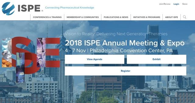 ISPE Philadelphia 2018
