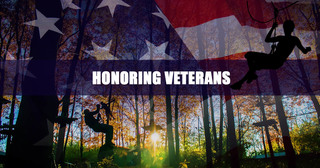 The Adventure Park at Storrs Offers Free Tickets to U.S. Veterans & Active Military for November 11, 201…