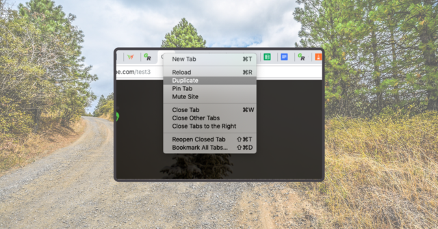 Multitab! Just duplicate your tab and get to work!