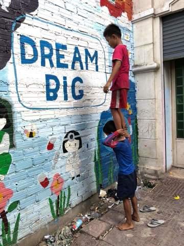"The non-profit organization Mini Molars Cambodia wins the PR Image Award 2018. The Hamburg-based NGO won out against around 1,000 entrants with its photo ""Dream Big"". Photo: Anton Bass"