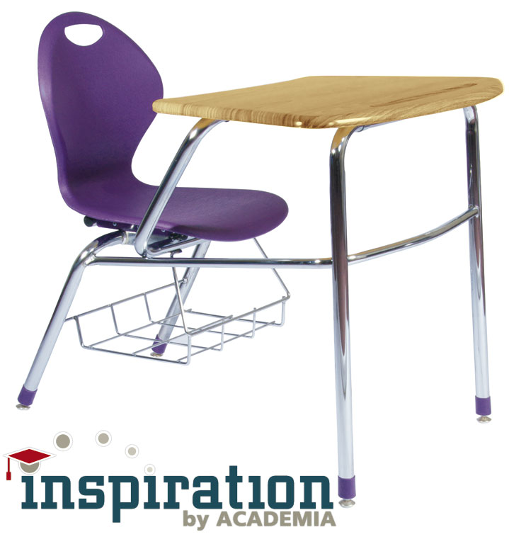 school furniture finds inspiration with new combo desk unit from