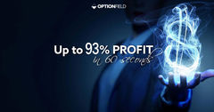 Optionfield's most traded Binary Options can bring you up to 93% Profit in as little as 60 seconds.