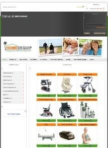 Homedequip Website