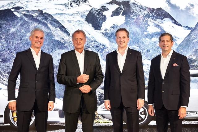 Eberhard Weiblen, Detlev von Platen , Norman Firchau, Doug Reinart (from left)