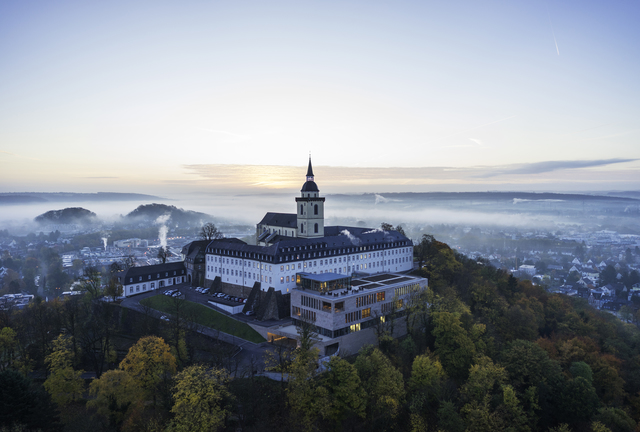 The Architecture MasterPrize 2018 was awarded three times to meyerschmitzmorkramer: The Michaelsberg Abbey in Siegburg won in two categories. credit: HGEsch
