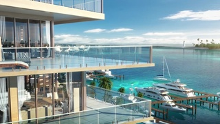 The Pointe Celebrates Topping Off Ceremony for One Particular Harbour