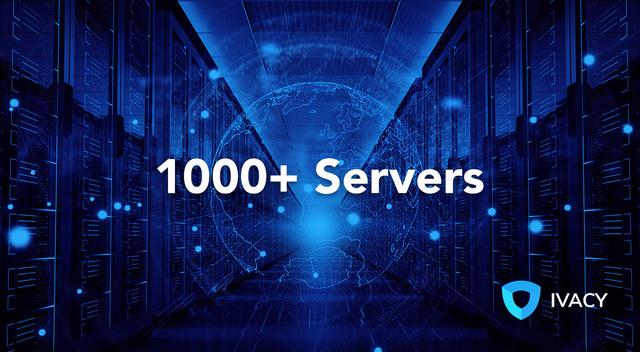 1000+ Servers
