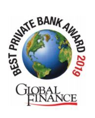 Caye International Bank Wins Global Finance Magazine Award