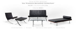 Barcelona Designs offers one-day 10% discount to their award-winning Barcelona collection
