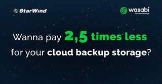 StarWind and Wasabi Hot Cloud Storage launch a joint solution to ensure secure hybrid storage for backups and data recov…