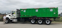 Dumpsters are now available in 30 and 40 cubic yard sizes to better serve commercial customers.