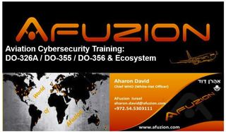 AFuzion Launches New Aviation Cyber-Security Services & Training at Aerospace Tech Week, Munich, Germany: March 12, …