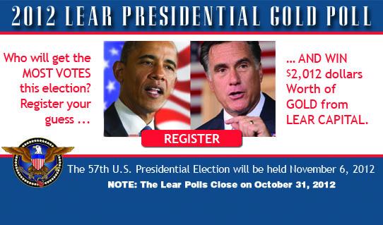 Lear Capital 2012 Gold Poll