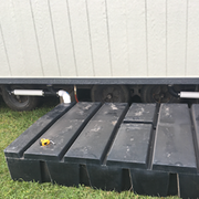 In addition to their grease trap and interceptor cleaning services, Moon also provides holding tanks and freshwater sanitation systems as an alternative when indoor plumbing is not available.