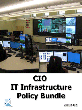 """IT Infrastructure Policy Bundle contains all of the tools required to create and manage a """"World Class"""" technology function."""
