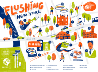 Announcing new community website for Flushing Neighborhood Society