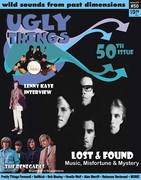 Ugly Things Magazine Issue #50 Front Cover